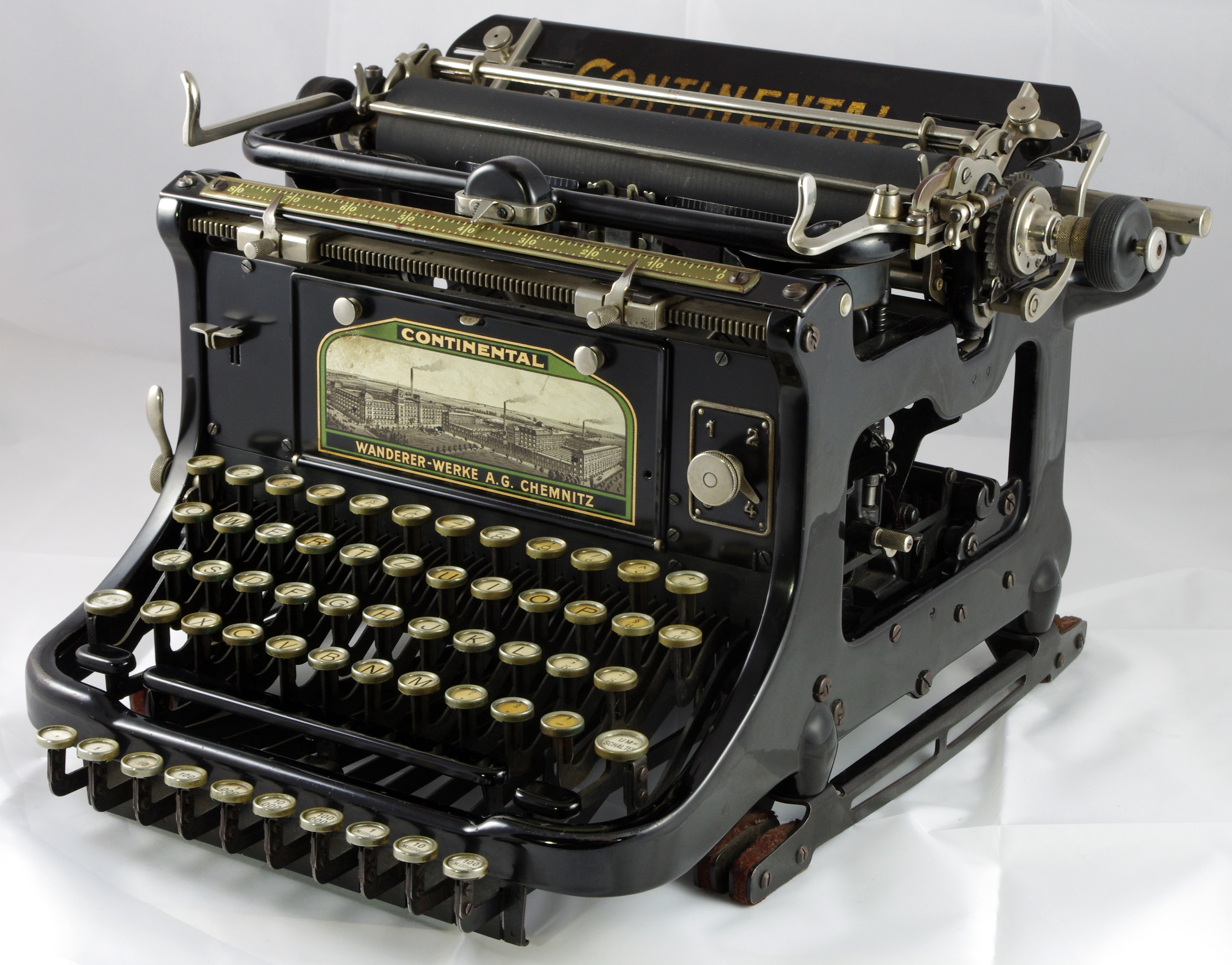 Schreibmaschine Continental