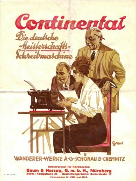 Continental Werb. 1